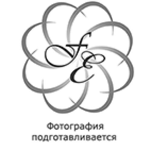 """Набор рюмок 60 мл 6 шт """"Лепка Зеленая /золотая ножка"""" U-R Bohemia (Богемия) Чехия"""
