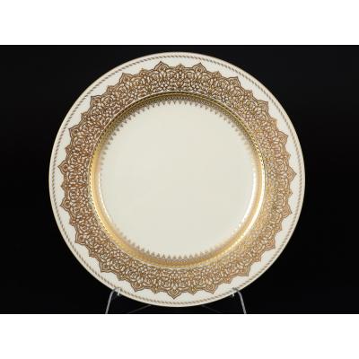 "Набор тарелок 27 см 6 шт ""Agadir Brown Gold"" Falken Porsellan"