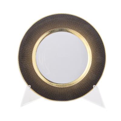 "Набор тарелок 17 см 6 шт ""Rio Black Gold"" Falken Porsellan"