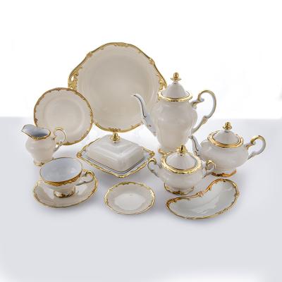 """Сервиз чайный на 6 перс. 31 пред. """"Амелия"""" Weimar Porzellan (Веймар)"""