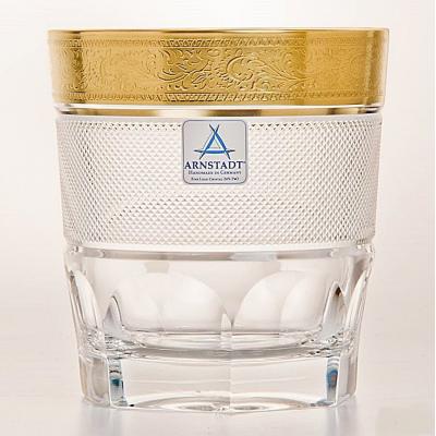 """Набор стаканов 250 мл 6 штук """"Арнштадт Бибиголд"""" Arnstadt Kristall (Арнштадт)"""