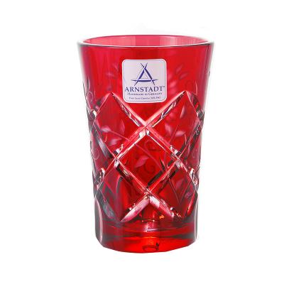 "Набор стаканов 60 мл 6 шт ""Роза Рубин"" Arnstadt Kristall (Арнштадт)"
