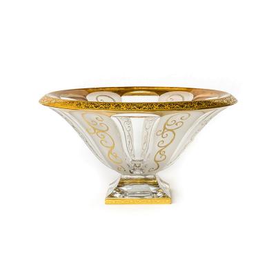 "Ваза для фруктов 33 см ""Панел Романсе"" Astra Gold (Астра Голд)"