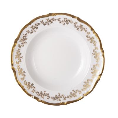 Набор глубоких тарелок 23 см 6 шт Мария Тереза 2752 Bavarian Porcelain (Бавария)