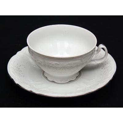 "Чайный набор 180 мл на 6 перс. 12 пред. ""Бернадот 2021 Платина"" Bernadotte (Бернадот)"