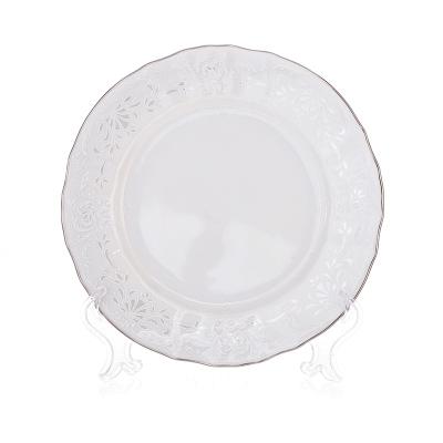 """Набор тарелок 17 см 6 штук  """"Бернадот 2021 Платина"""" Bernadotte (Бернадот)"""