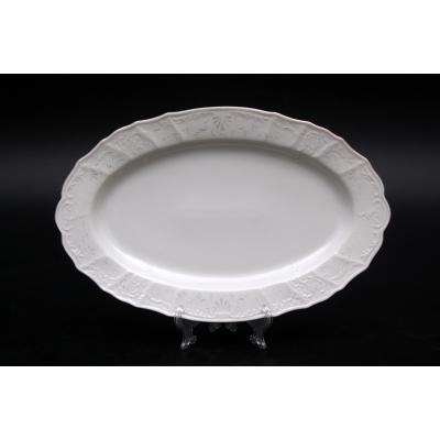 "Блюдо овальное 36 см ""Бернадот 2021 Платина"" Bernadotte (Бернадот)"