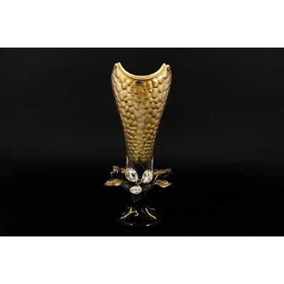 """Ваза для цветов 45 см  """"Cevik Group Gold"""" Цветы"""