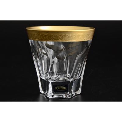 """Набор стаканов (230 мл) """"APOLLO"""" Crystalite Bohemia (Кристалайт Богемия)"""
