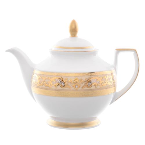Чайник 1,2 л Alena 3D Cream Gold Constanza Falkenporzellan Германия