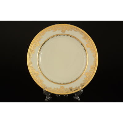 "Набор тарелок 20 см 6 шт ""C-Cream 9077 Gold""  Falken Porsellan"