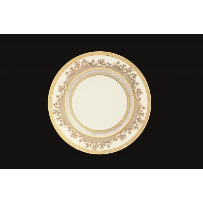 "Набор тарелок 27 см 6 шт ""Constanza Cream Gold 9320 GP"" Falken Porzellan"