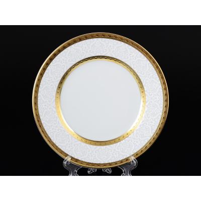 "Набор тарелок 17 см 6 шт ""Constanza Diamond Whit Gold""  Falken Porsellan"