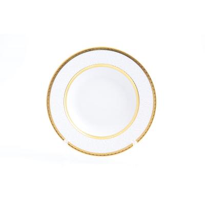 "Набор глубоких тарелок 22 см 6 шт ""Constanza Diamond Whit Gold""  Falken Porsellan"