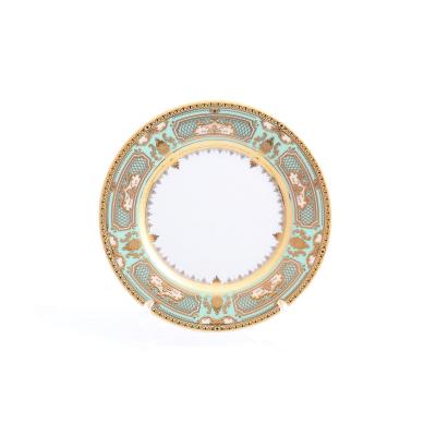"Набор тарелок 17 см 6 шт ""Donna Green Gold""  Falken Porsellan"