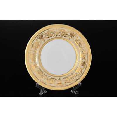 "Набор тарелок 27 см 6 шт ""Imperial Creme Gold""  Falken Porsellan"