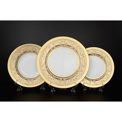 "Набор тарелок 18 шт ""Imperial Creme Gold""  Falken Porsellan"