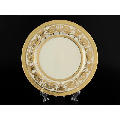 "Набор тарелок 27 см 6 шт  ""Constanza Crem Gold""  Falken Porsellan"