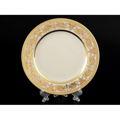 """Набор тарелок 17 см 6 шт  """"Constanza Crem Gold""""  Falken Porsellan Германия"""