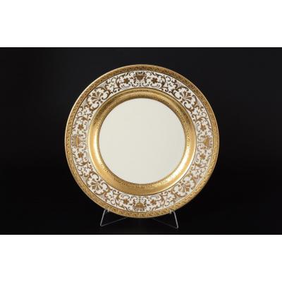 """Блюдо круглое 32 см """"Royal Cream Gold""""  Falken Porsellan"""