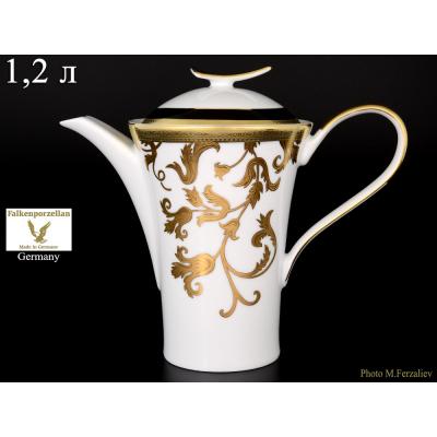 "Чайник 1,2 л ""Tosca Black""  Falken Porsellan"