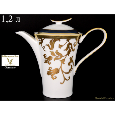 "Чайник 1,2 л  ""Tosca Blueshade Gold""  Falken Porsellan"