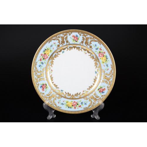 "Набор тарелок 26,5 см 6 шт ""Vienna Blue Gold""  Falken Porsellan  Германия"