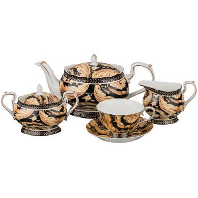 "Сервиз чайный на 6 перс. 15 пред.  ""Rosen"" Lefard (Лефард)"