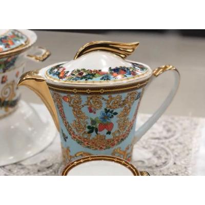 "Чайный сервиз и столовый сервиз на 12 перс. 112 пред. ""Ле Жардин"" Lefard (Лефард)"