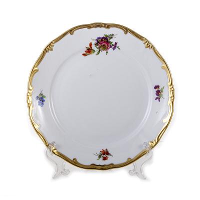 """Набор тарелок 22 см 6 шт """"Мейсенский букет"""" Weimar Porzellan (Веймар)"""