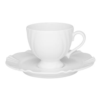 """Чайная пара 200 мл на 1 перс. 2 пред. """"Soleil White"""" Oxford"""
