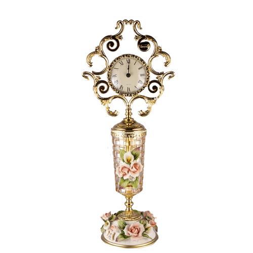 Часы настольные Плетение Rosaperla (Розаперла) Италия