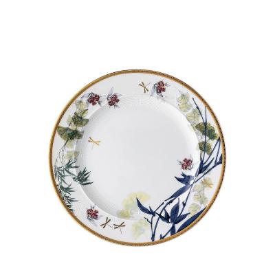 Тарелка 22 см 1 шт Турандот Белый Rosenthal (Розенталь)