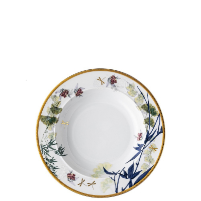 Тарелка глубокая 22 см 1 шт Турандот Белый Rosenthal (Розенталь)