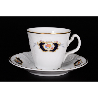 "Набор для чая (трапеция) 160 мл на 6 перс. 12 пред. ""Бернадот Синий глаз"""
