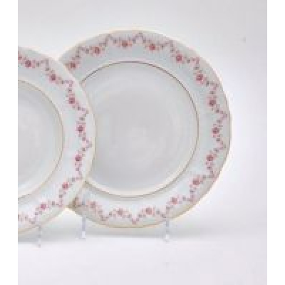 "Набор тарелок 25 см 6 шт ""Соната 158"" Leander (Леандер)"