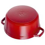 Кокот Круглый Красный 24 см 3,8 л Staub Франция