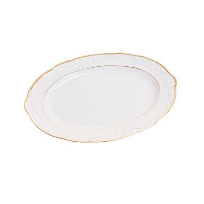 Блюдо овальное 32 см Тулип 17500 Тхун (Thun)