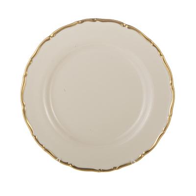 Набор тарелок 25 см  6 шт АГ 841 Ивори Thun (Тхун)