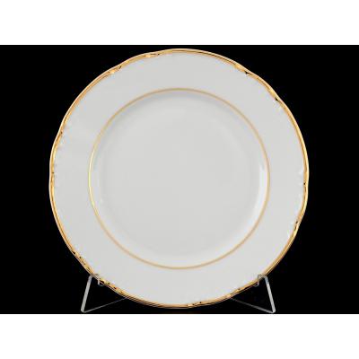 """Набор тарелок 17 см 6 шт """"Констанция Отводка золото"""" Тхун (Thun)"""