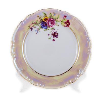 "Набор тарелок 19 см 6 шт ""Констанция Букет"" Thun (Тхун)"