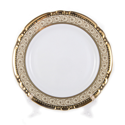 "Набор тарелок 24 см 6 шт ""Констанция Gold"" Thun (Тхун)"